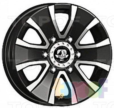 Колесные диски Kosei Barerock. Изображение модели #2
