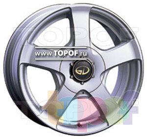 Колесные диски Kosei D4 (Grand Infest D4). Изображение модели #1