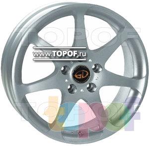 Колесные диски Kosei D5 (Grand Infest D5). Изображение модели #1