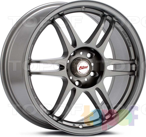 Колесные диски Kosei K1-Racing (TS-Version). Цвет - золотой