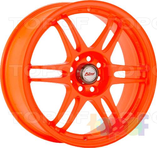 Колесные диски Kosei K1-Racing (TS-Version). Цвет - серебряный