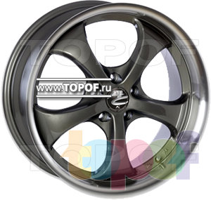 Колесные диски Kosei Zurich. Изображение модели #1