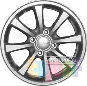 Колесные диски КраМЗ Кан. Изображение модели #2
