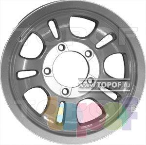 Колесные диски КраМЗ Лидер. Изображение модели #2