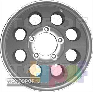 Колесные диски КраМЗ Рейтинг. Изображение модели #2