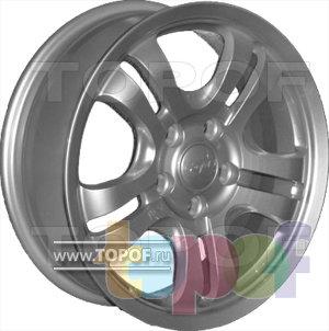 Колесные диски КраМЗ Сармат. Изображение модели #1
