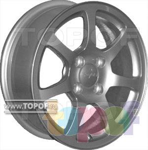 Колесные диски КраМЗ Верона. Изображение модели #1