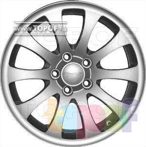Колесные диски КраМЗ Вихрь. Изображение модели #2