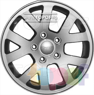 Колесные диски КраМЗ Виват. Изображение модели #2