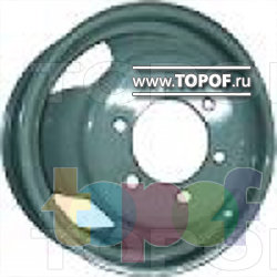Колесные диски Кременчугский КЗ ГАЗ-2217 «Соболь». Изображение модели #1