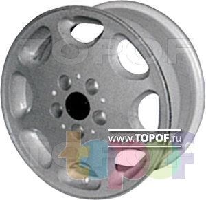 Колесные диски КУЛЗ КА-104 Мерс. Изображение модели #1