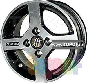 Колесные диски КУЛЗ КА-109 Квадро. Изображение модели #1