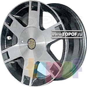 Колесные диски КУЛЗ КА-238 Символ. Изображение модели #1