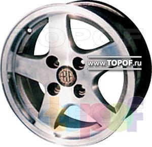 Колесные диски КУЛЗ КА-241 Стелла. Изображение модели #1