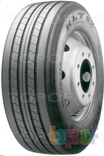 Шины Kumho KLT02. Дорожная шина для грузового автомобиля