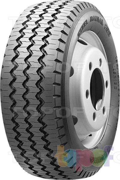 Шины Kumho Steel Radial 856. Дорожная шина для грузового автомобиля