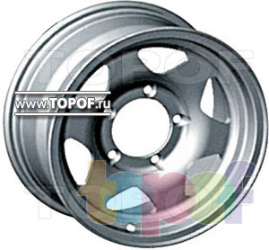 Колесные диски КУМЗ АМК-12-2. Изображение модели #1