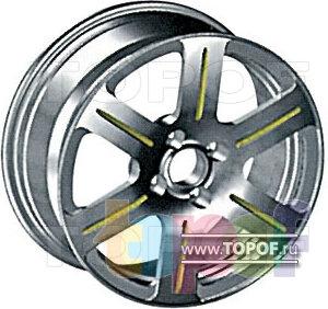 Колесные диски КУМЗ АМК-12-33. Изображение модели #1