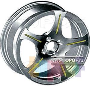 Колесные диски КУМЗ АМК-12-43. Изображение модели #1