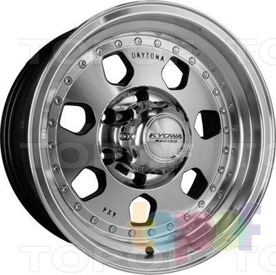 Колесные диски Kyowa KR203 Daytona. Изображение модели #1