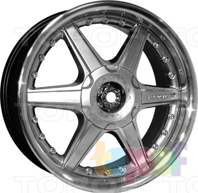 Колесные диски Kyowa KR207. Изображение модели #1