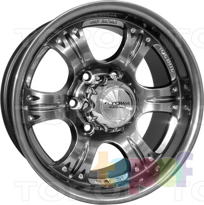 Колесные диски Kyowa KR216. Изображение модели #2