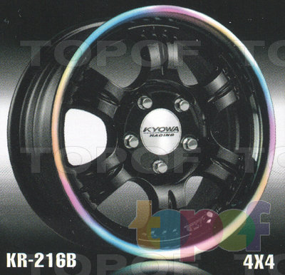 Колесные диски Kyowa KR216. Изображение модели #5