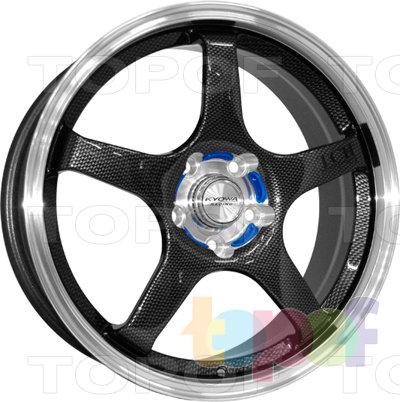 Колесные диски Kyowa KR315. Колесный диск Kyowa KR315 (Цвет BKCL)