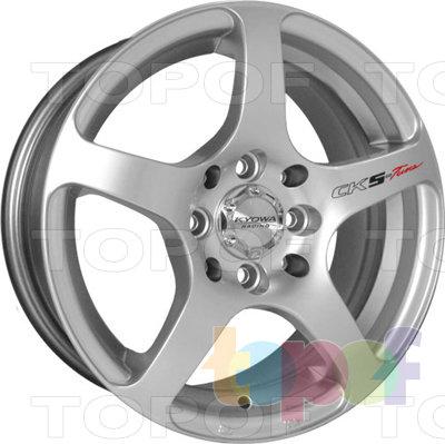 Колесные диски Kyowa KR326. Колесный диск Kyowa KR326 (цвет MBK)