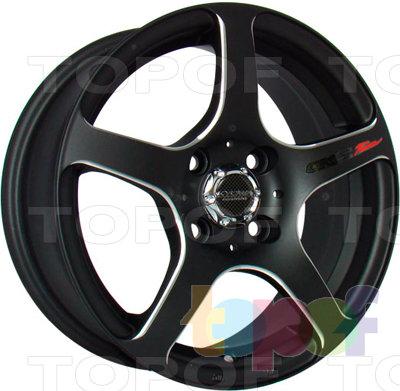 Колесные диски Kyowa KR326. Колесный диск Kyowa KR326 (цвет BKF)