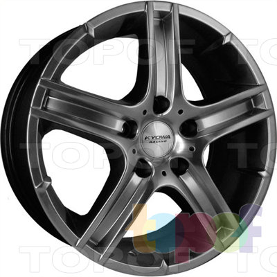 Колесные диски Kyowa KR333. Колесный диск Kyowa KR333 (цвет HP)