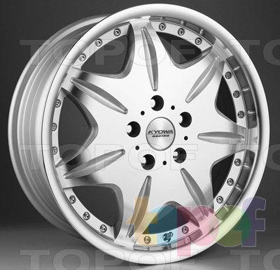 Колесные диски Kyowa KR337. Изображение модели #1