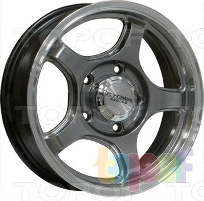 Колесные диски Kyowa KR345. Цвет HPBL