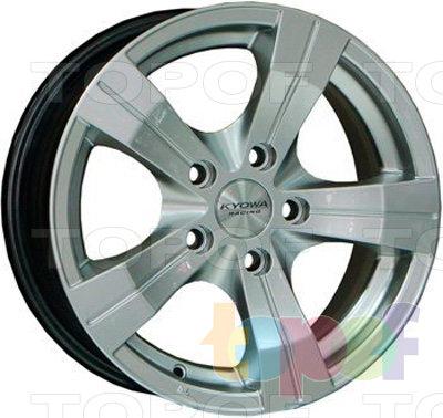 Колесные диски Kyowa KR347. Цвет HP