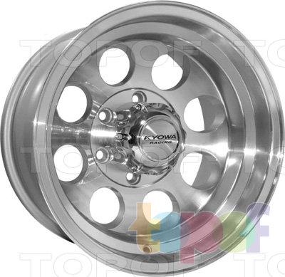 Колесные диски Kyowa KR352. Цвет SF