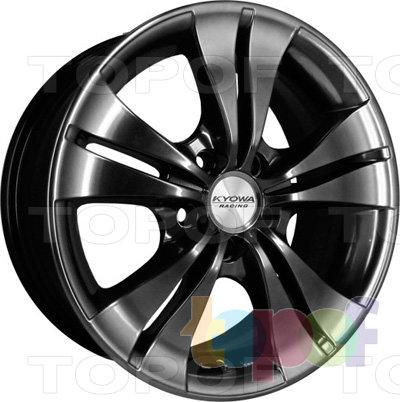 Колесные диски Kyowa KR357. Цвет BKF