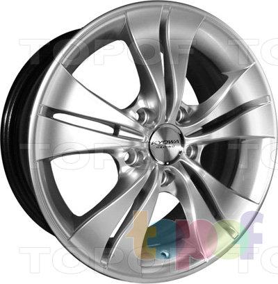 Колесные диски Kyowa KR357. Цвет MBKF
