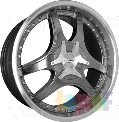 Колесные диски Kyowa KR505. Изображение модели #1