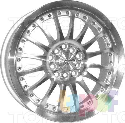 Колесные диски Kyowa KR509. Цвет SF