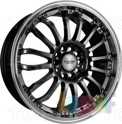 Колесные диски Kyowa KR515. Цвет HPBL