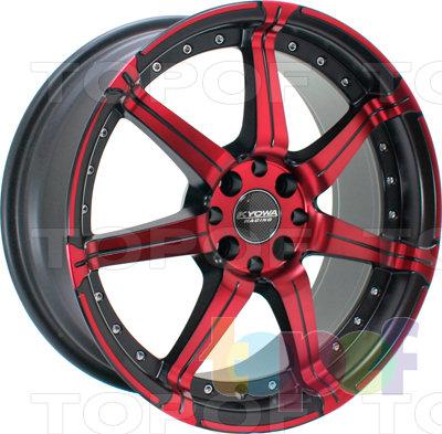 Колесные диски Kyowa KR518. Изображение модели #1