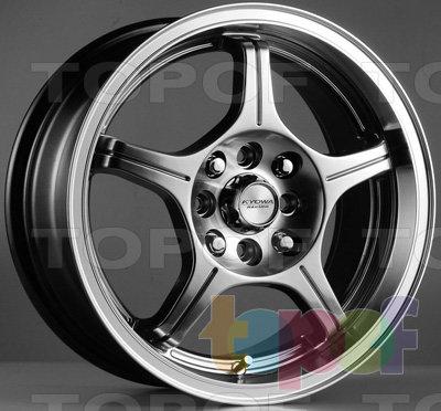 Колесные диски Kyowa KR540. Изображение модели #1