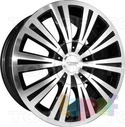 Колесные диски Kyowa KR553. Цвет BKF