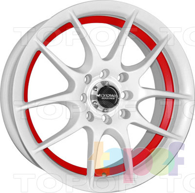 Колесные диски Kyowa KR583. Цвет IBMBK