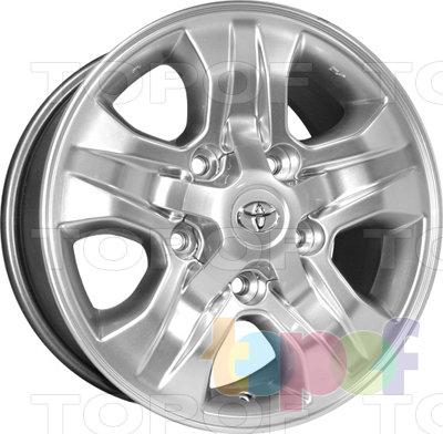 Колесные диски Kyowa KR589. Изображение модели #1