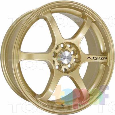 Колесные диски Kyowa KR595. Цвет CBB