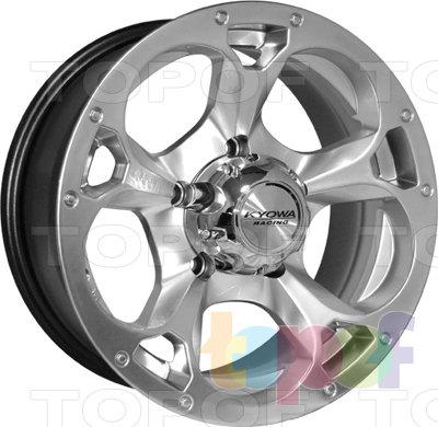 Колесные диски Kyowa KR599. Изображение модели #1