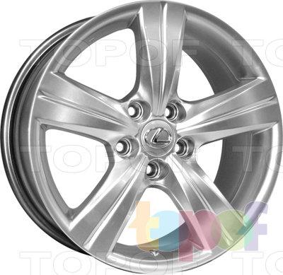 Колесные диски Kyowa KR600. Изображение модели #1