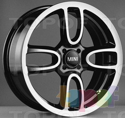 Колесные диски Kyowa KR603. Цвет BKF