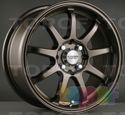 Колесные диски Kyowa KR614. Цвет колесного диска - MBR (Коричневый с дымкой)
